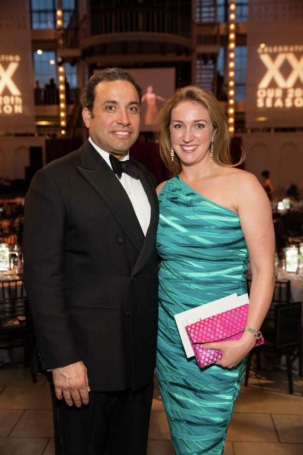 "Nick Koukopoulos and Lucy Koukopoulos at Smuin Ballet's ""XXTRAVAGANZA"" Gala on March 7, 2014. Photo: Drew Altizer Photography/SFWIRE, Drew Altizer Photography / ©2014 by Drew Altizer, all rights reserved"