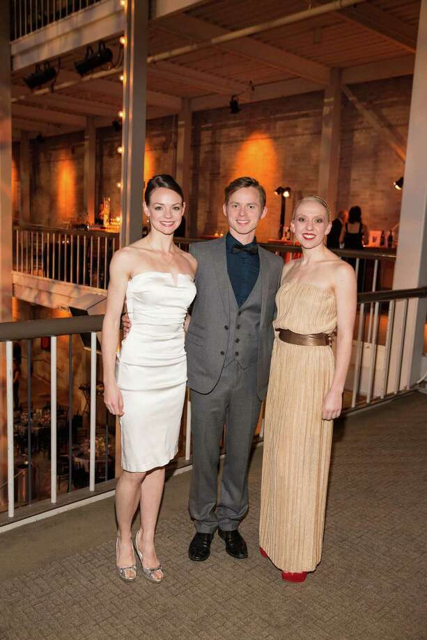 "Jo-Ann Sundermeier, Christian Squires and Nicole Haskins at Smuin Ballet's ""XXTRAVAGANZA"" Gala on March 7, 2014. Photo: Drew Altizer Photography/SFWIRE, Drew Altizer Photography / ©2014 by Drew Altizer, all rights reserved"