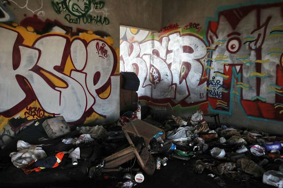 Graffiti Debris And All Kinds Of Other Ugliness Linger Since A  Fire Destroyed What