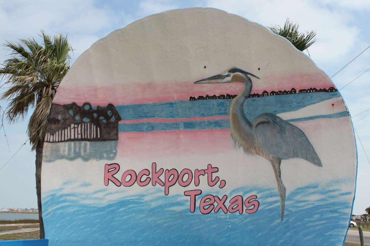 Rockport Beach Park - Aransas County Four locations checked all reporting Low levels