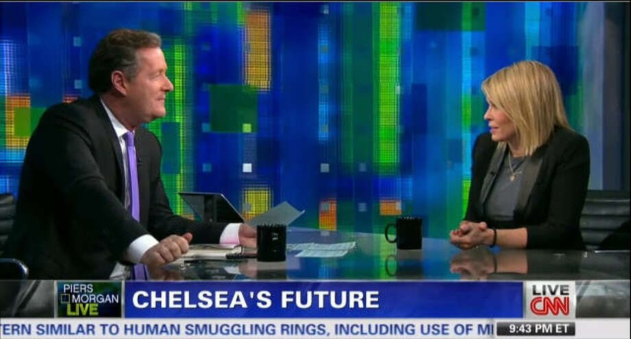 "Comedian Chelsea Handler had some harsh wordsfor outgoing CNN host Piers Morgan on his evening show ""Piers Morgan Live."" Photo: CNN"