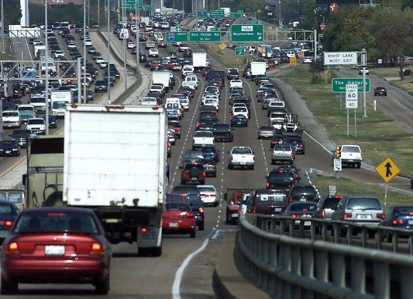 Horrendous traffic is Houston's, and Texas', worst kept secret. The Federal Highway Administration ranked Texas second for the busiest highways in the nation, with drivers logging more than 55.7 billion miles on its interstates. Here's a list of some of the most crowded interstates in Texas with mean annual average daily vehicle counts from an FHA report. Source:Federal Highway Administration