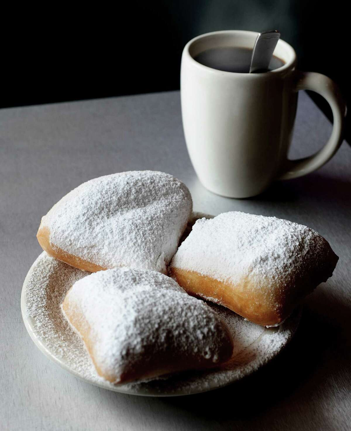 Beignets are a crowd favorite at the Gumbo Diner on Seawall Boulevard.