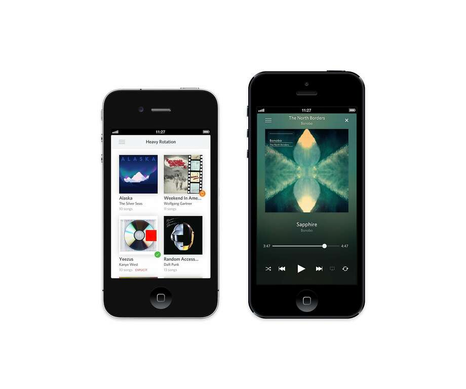 Song-recommending service the Echo Nest is available on several platforms. Photo: Rdio