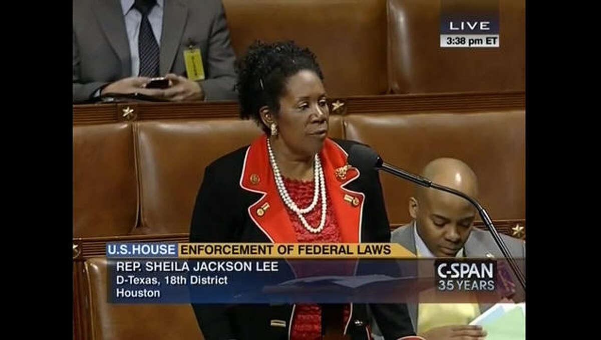 Rep. Sheila Jackson Lee, D-Texas, had an