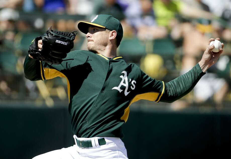 Starter Scott Kazmir was sharp against the Royals, allowing a hit and a walk and striking out three. Photo: Chris Carlson, Associated Press