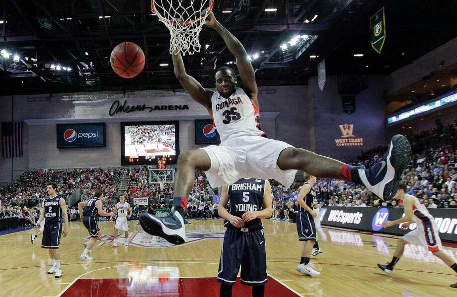 Gonzaga - West Coast Conference winner Photo: Julie Jacobson, Associated Press / AP