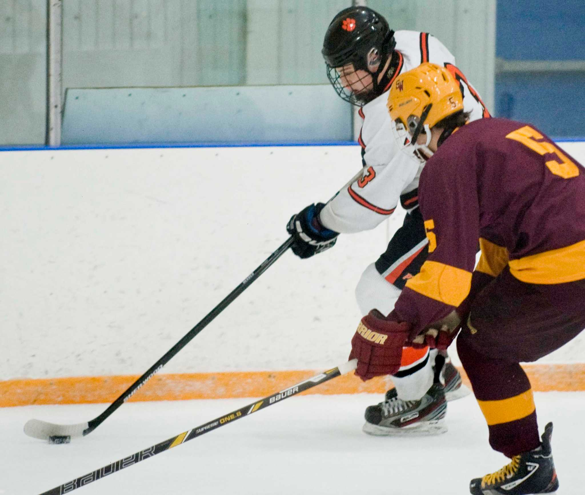 south windsor ousts ridgefield in division i hockey newstimes