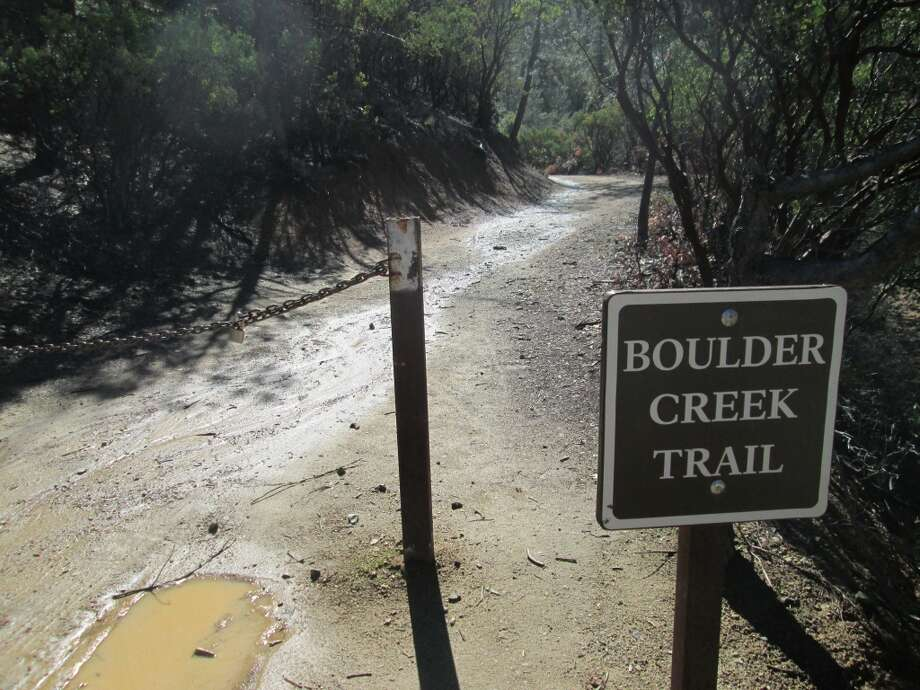 Best trailhead for Boulder Creek Falls is at end of 4-wheel-drive road Photo: Tom Stienstra/SF Chronicle