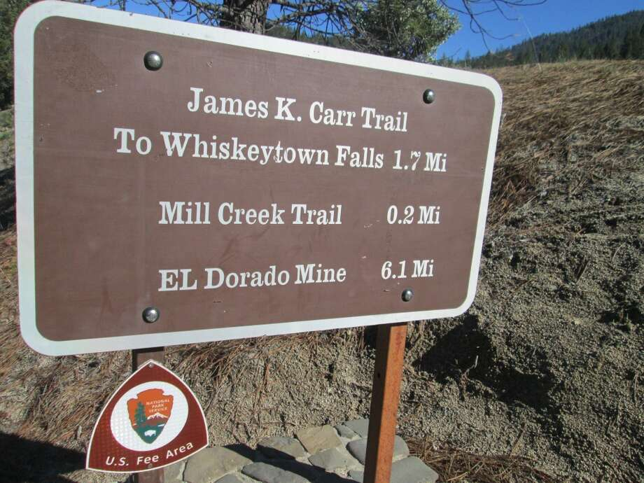 Trailhead and all turns are clearly marked and signed Photo: Tom Stienstra/SF Chronicle
