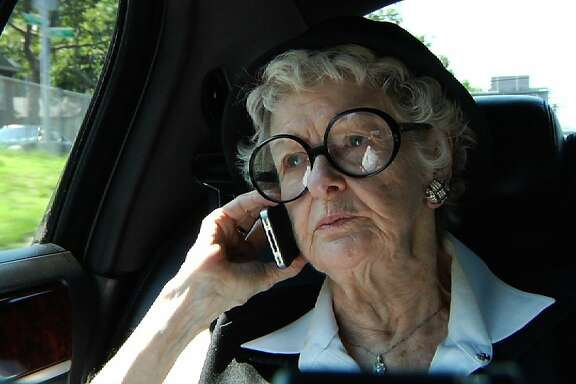 "Elaine Stritch is seen in, ""Elaine Stritch:  Shoot Me."""