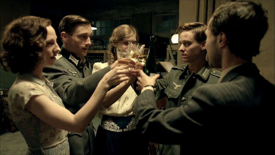 Katharina Schuttler (left), Volker Bruch, Miriam Stein, Tom Schilling and Ludwig Trepte in a riveting but discomfort-inducing piece of filmmaking. Photo: Music Box Films