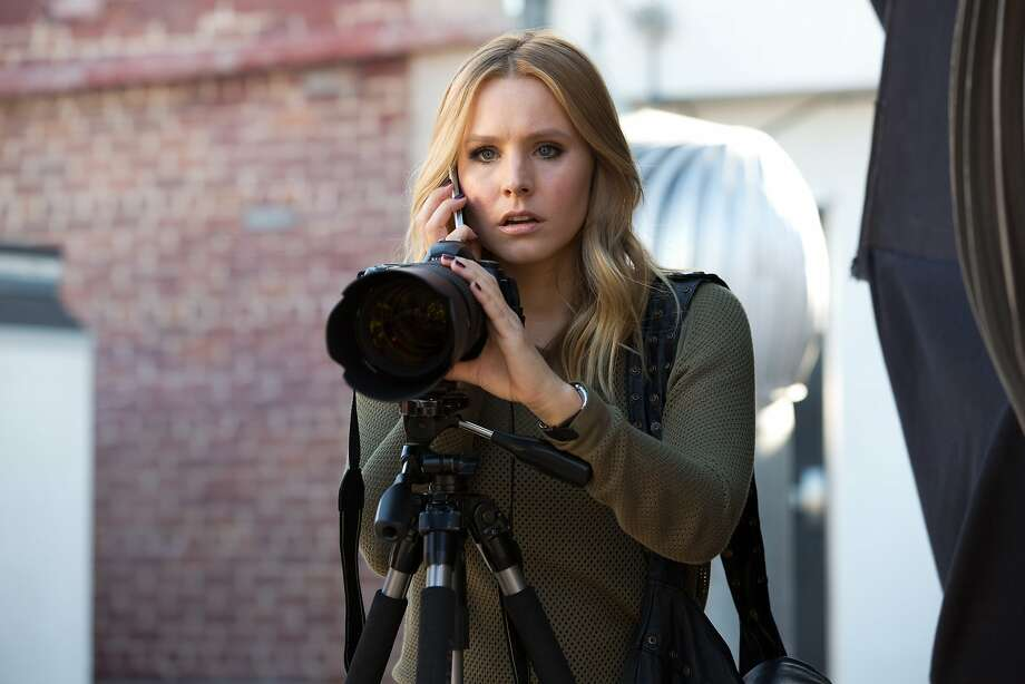Kristen Bell, who played teen detective Veronica Mars in the TV series of the same name, returns years later to help her high school flame, now a prime suspect in a murder. Photo: Robert Voets, Associated Press