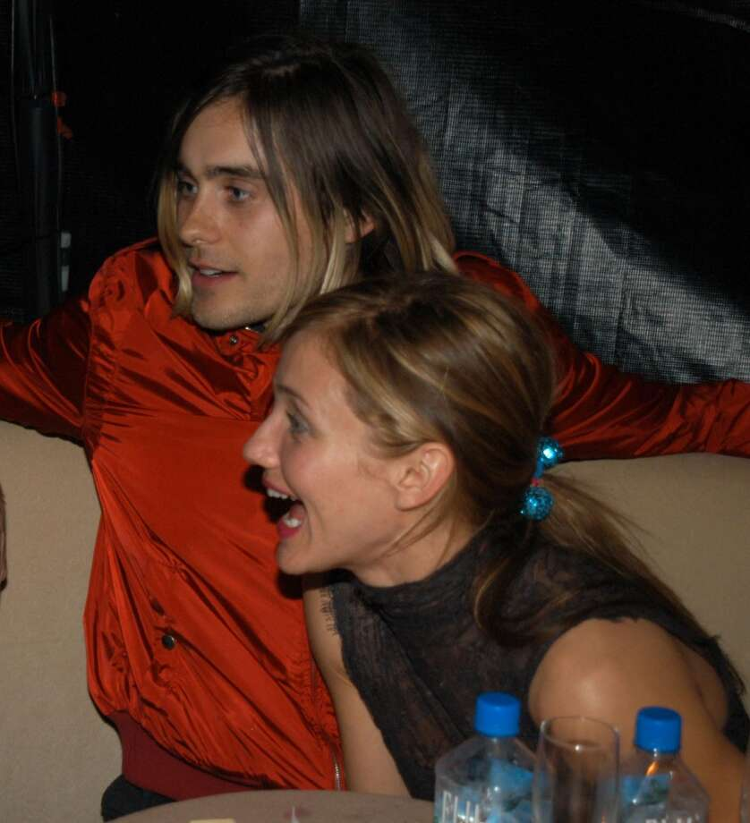 Jared Leto and Cameron Diaz were together for four years, even getting engaged in 2000. Alas, they broke up in 2003. She's now married to Benji Madden Photo: Jeff Kravitz, FilmMagic