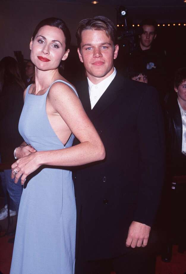 "Which was news to Matt Damon's girlfriend of seven months and ""Good Will Hunting"" co-star Minnie Driver, who found out about their breakup almost two weeks later when Damon announced it. On Oprah. Photo: S. Granitz, WireImage"