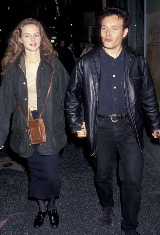 Heather Graham and Adam Ant dated in the early 1990s. Photo: Ron Galella, WireImage