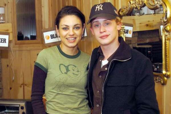 Mila Kunis and Macaulay Culkin  were together for almost a decade, from 2002-11.