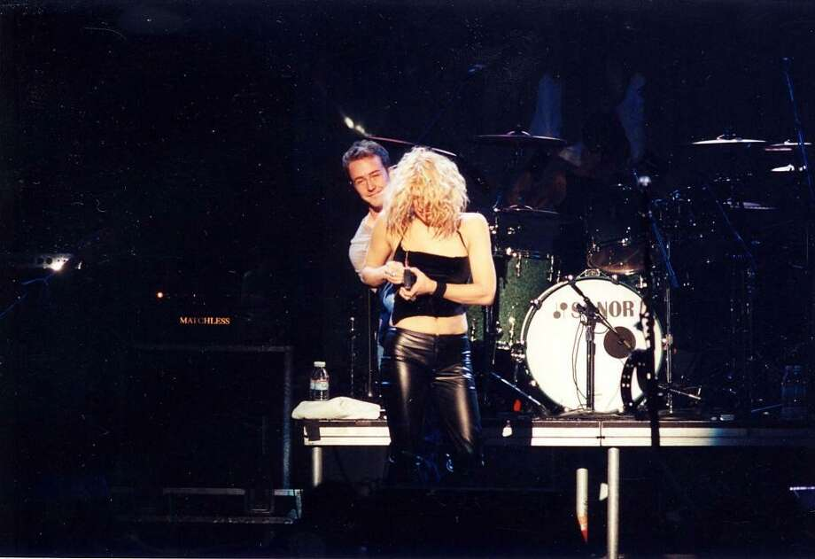 """Yep. """"The People vs. Larry Flynt"""" co-stars Ed Norton and Courtney Love were an item from 1996-99. Photo: Jeff Kravitz, FilmMagic"""