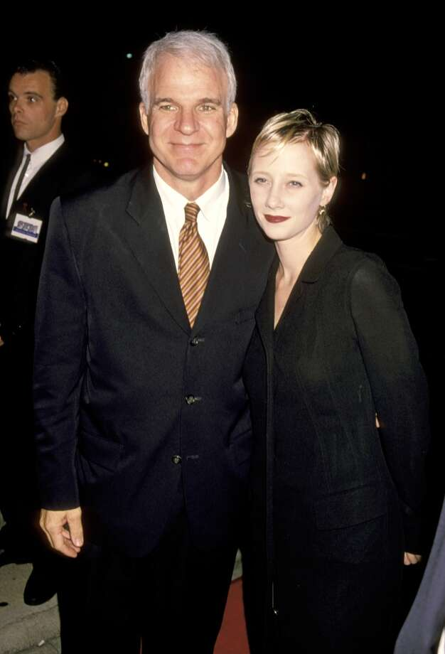 Steve Martin and Anne Heche dated briefly in the early '90s, despite a 24-year age difference. Photo: Ron Galella, WireImage