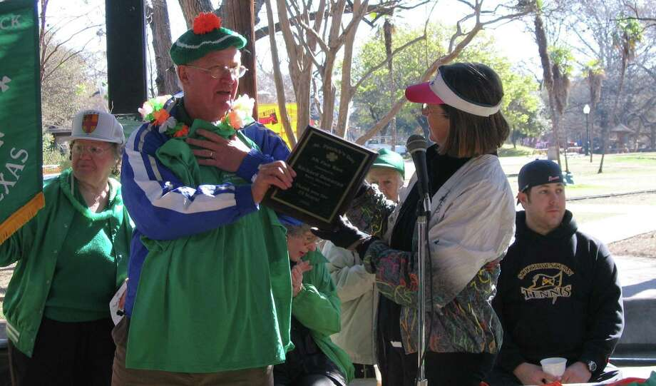 Richard Donovan, who died in 2011, was the first director of the Harp & Shamrock Society's annual run. Photo: Terrence Peak / Courtesy Photo