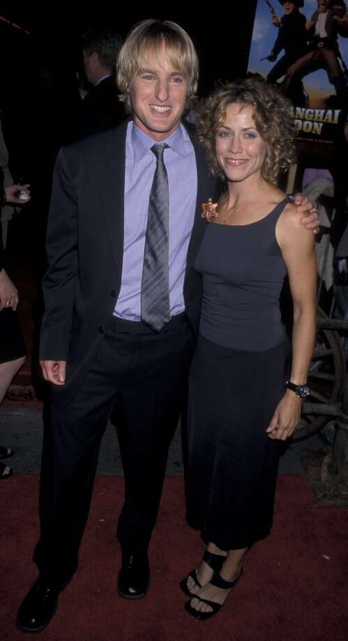 "Owen Wilson and Sheryl Crow dated for three years in the late '90s/early 2000s. The song ""Safe and Sound"" off her album, ""C'mon, C'mon"" is reportedly about him. Photo: Ron Galella, Ltd., WireImage"