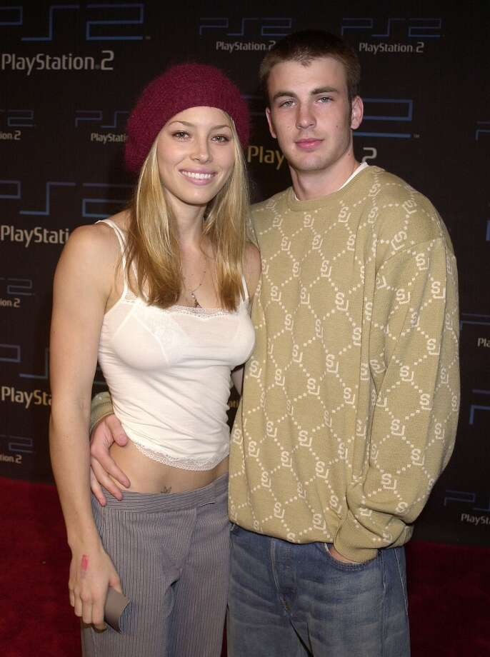 Before she married Justin Timberlake and he became Captain America, these two genetically blessed kids were in love. Jessica Biel and Chris Evans dated from 2004-06. Photo: Gregg DeGuire, WireImage