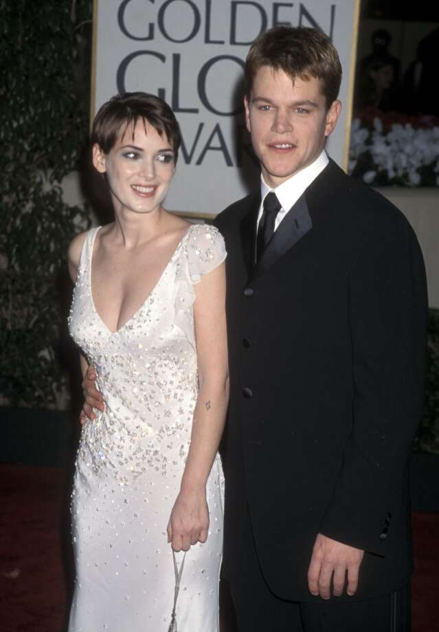 Winona Ryder and Matt Damon began their two-year relationship after they reportedly met at a New Year's Eve party (introduced by Gwyneth Paltrow, no less) in 1997 and started dating right away. Photo: Ron Galella, Ltd., Getty Images