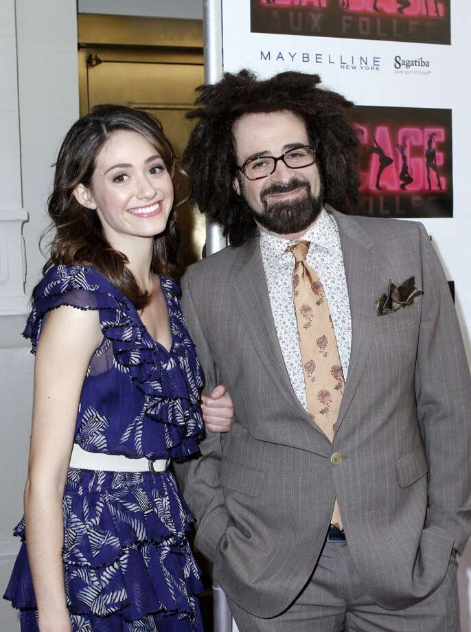 Count Emmy Rossum among the bevy of beautiful women that Counting Crows singer Adam Duritz has romanced. They dated for close to a year before breaking up in 2010. Photo: Donna Ward, WireImage