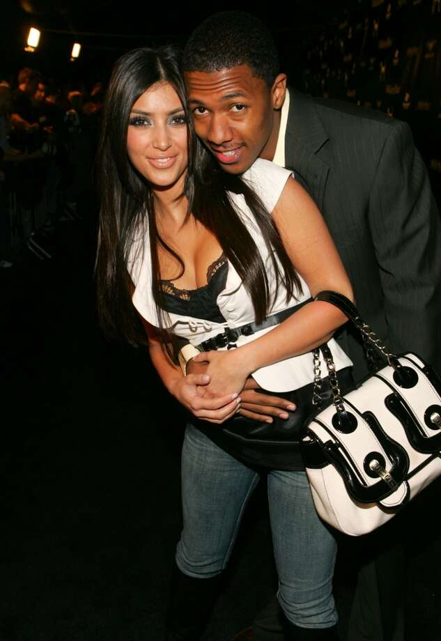"Kim Kardashian  and Nick Cannon dated from mid-2006 to early 2007. He has said that Kardashian ""lying to him"" about her sex tape played a part in their breakup.   But no tears should be shed for the end of this union. He went on to marry  (and separate from) Mariah Carey, and you may have heard a thing or two about her and some Kanye West guy. Photo: John Shearer, WireImage For William Rast"