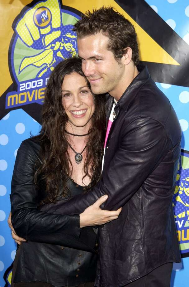 Alanis Morissette and Ryan Reynolds were together for about five years, even getting engaged, before splitting in 2007. Photo: SGranitz, WireImage