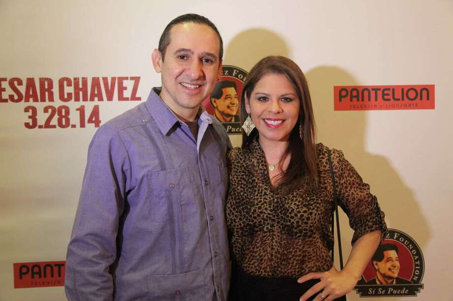 Film lovers enjoyed the special screening of this movie based on the life of the iconic labor leader César Chávez Wednesday night at the Palladium.