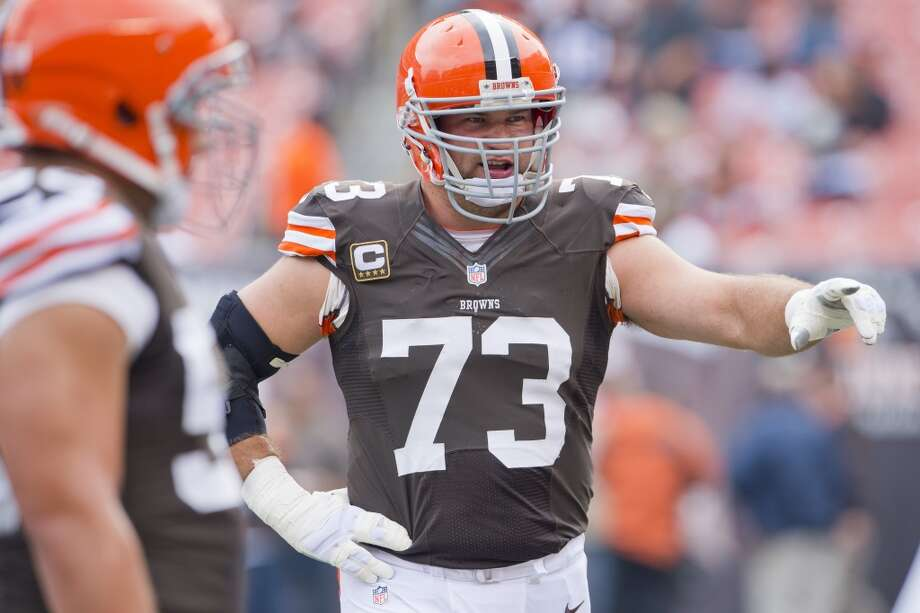 Offensive tackle  Joe Thomas  Cleveland Browns  Base salary: $10.9 million Photo: Jason Miller, Getty Images