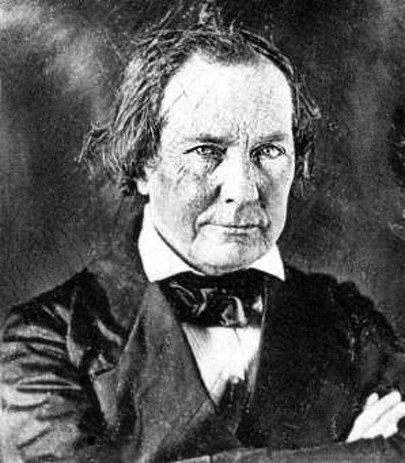 Mirabeau B. Lamar was promoted from a private to Colonel during the Texas Revolution after rescuing some fellow Texan soldiers who had been surrounded. Lamar went on to become the second President of Texas.