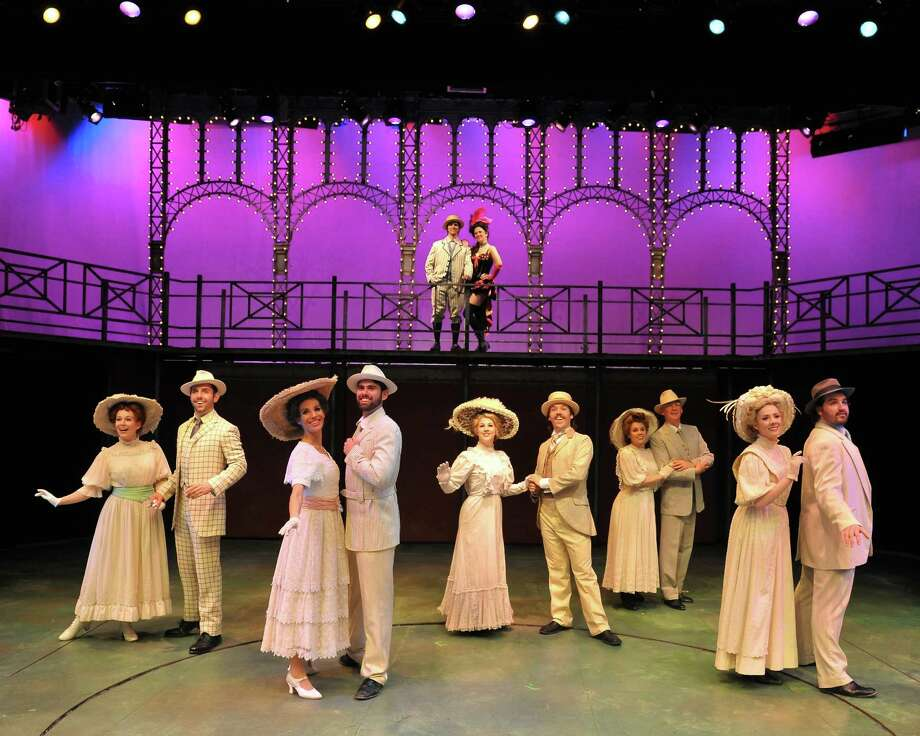 "Katie Heidbreder of Brookfield, far left, is part of the cast of the musical ""Ragtime,"" playing at the Westchester Broadway Theatre in Elmsford, N.Y., through May 4, 2014. To get tickets, visit www.RagtimeWestchester.com or call 914-592-2222. Photo: Contributed Photo / Stamford Advocate Contributed"