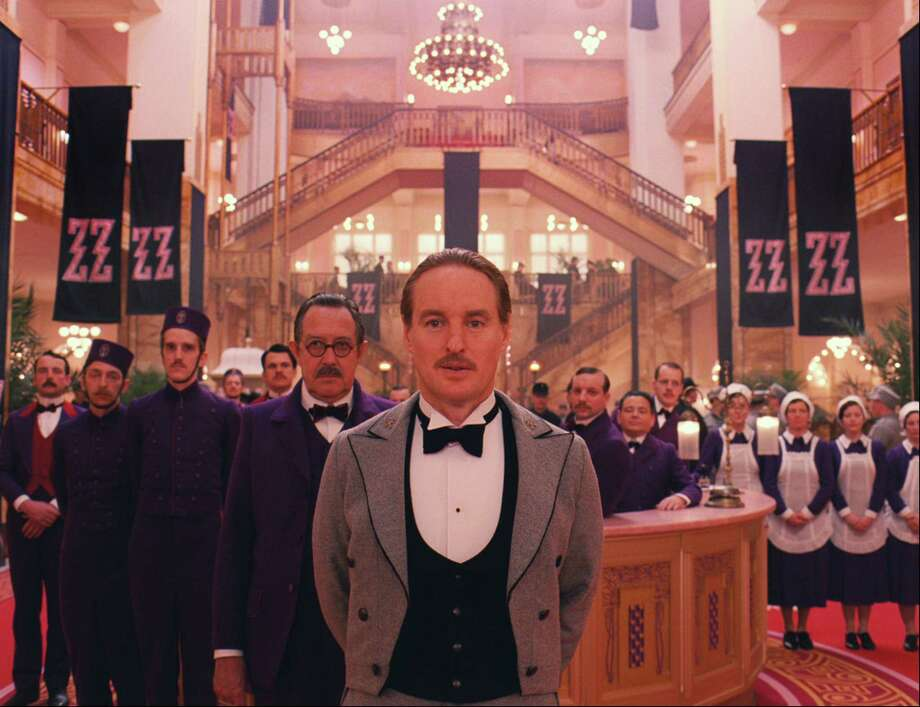 """The Grand Budapest Hotel"" starring Saoirse Ronan, Ralph Fiennes, Bill Murray, and Jude Law recounts the adventures of Gustave H, a legendary concierge at a famous European hotel. Catch a showing at the Ridgefield Playhouse on Saturday. Find out more."