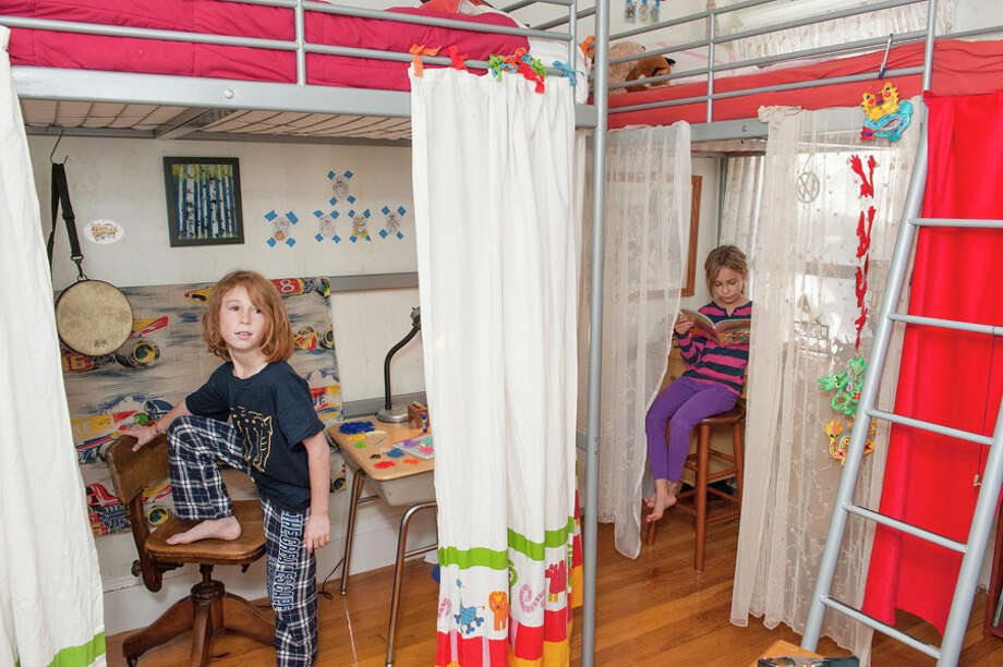 Making space in small children's rooms. Photo: Jennifer Waddell
