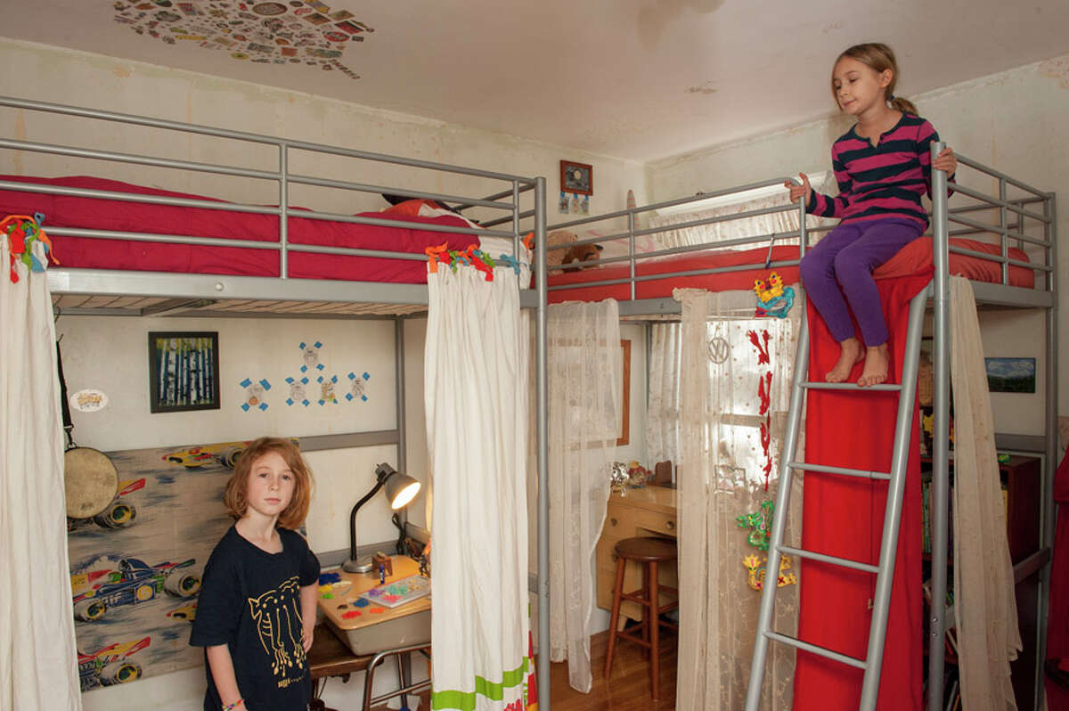 Making space in small children's rooms.