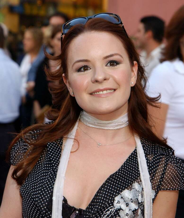 "Jenna von Oÿ -- the ""Blossom"" star was born in Stamford and raised for most of her life in Newtown. Photo: Gregg DeGuire, WireImage"