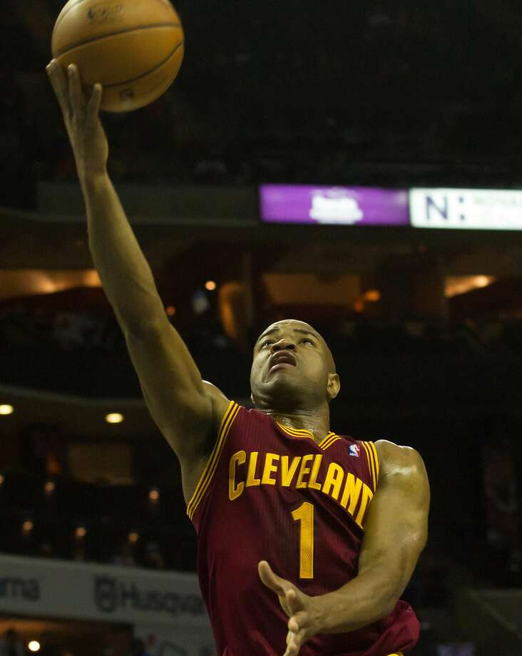 Jarrett Jack, the Warriors' sixth man a year ago, has been the Cavaliers' starting shooting guard over the past 19 games. Photo: Jeremy Brevard, Reuters