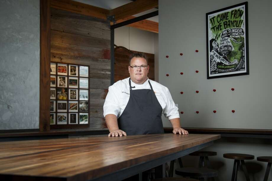 """Chris Shepherd of Underbelly will play host to the """"Off the Wall"""" dinner series that celebrates Houston's cultural diversity by showcasing the city's best chefs and restaurants.  ( Michael Paulsen / Houston Chronicle ) Photo: Michael Paulsen, Houston Chronicle"""