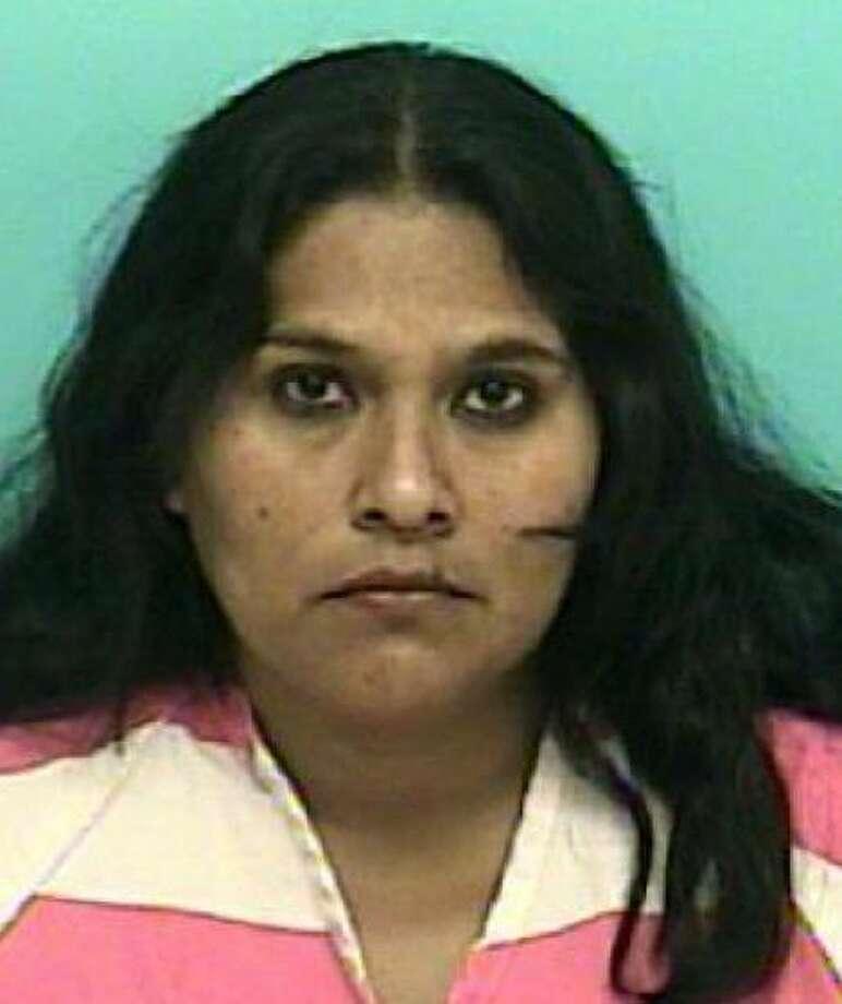 Suspect Perla Gutierrez (Conroe Police Department)