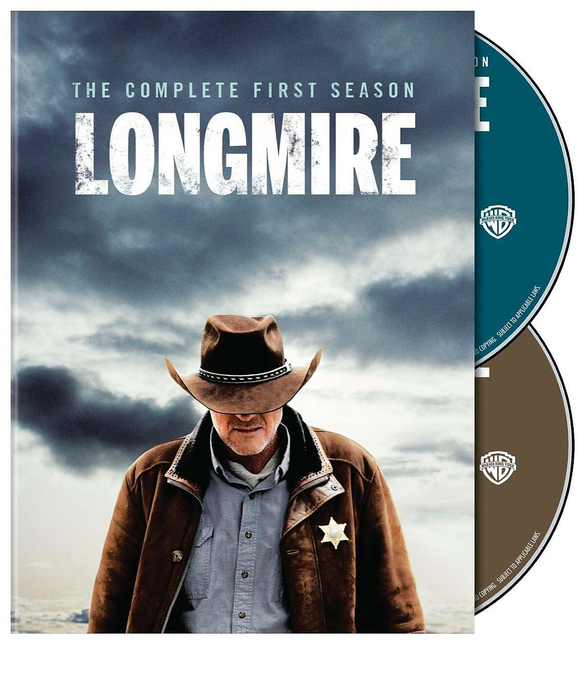 """dvd cover: """"Longmire: Complete First Season"""""""