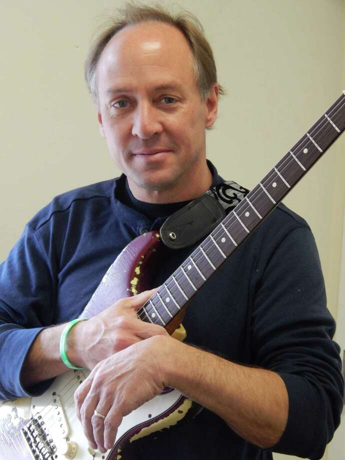 The Flagpole Radio Café continues its sixth season on Saturday, March 22, with Sandy Hook musician Mark Barden as its guest performer in Newtown. Photo: Contributed Photo / The News-Times Contributed