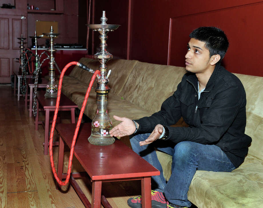 In this 2012 file photo Dev Patel, owner of Cloud 9 on Ives Street in Danbury, talks about the city shutting down his club. Photo: Carol Kaliff / The News-Times
