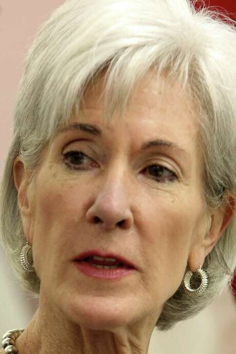 Kathleen Sebelius is the secretary of health and human services. / ©2013 San Antonio Express-News