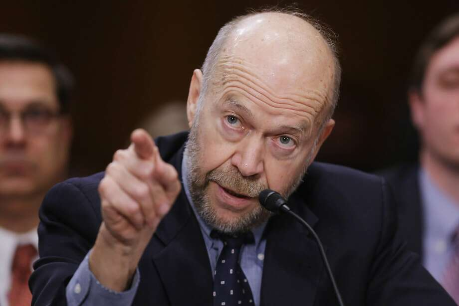 Former NASA climate scientist James Hansen testifies before the Senate Foreign Relations Committee during a hearing about the proposed Keystone XL pipeline. Photo: Chip Somodevilla, Getty Images