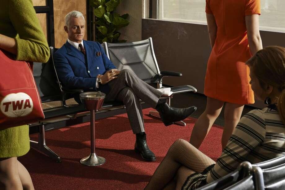 Roger Sterling (John Slattery) - Mad Men _ Season 7. Photo: Frank Ockenfels 3/AMC
