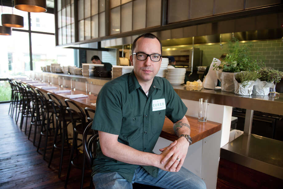 Steve McHugh is the chef/owner of Cured at the Pearl. Photo: For The San Antonio Express-News
