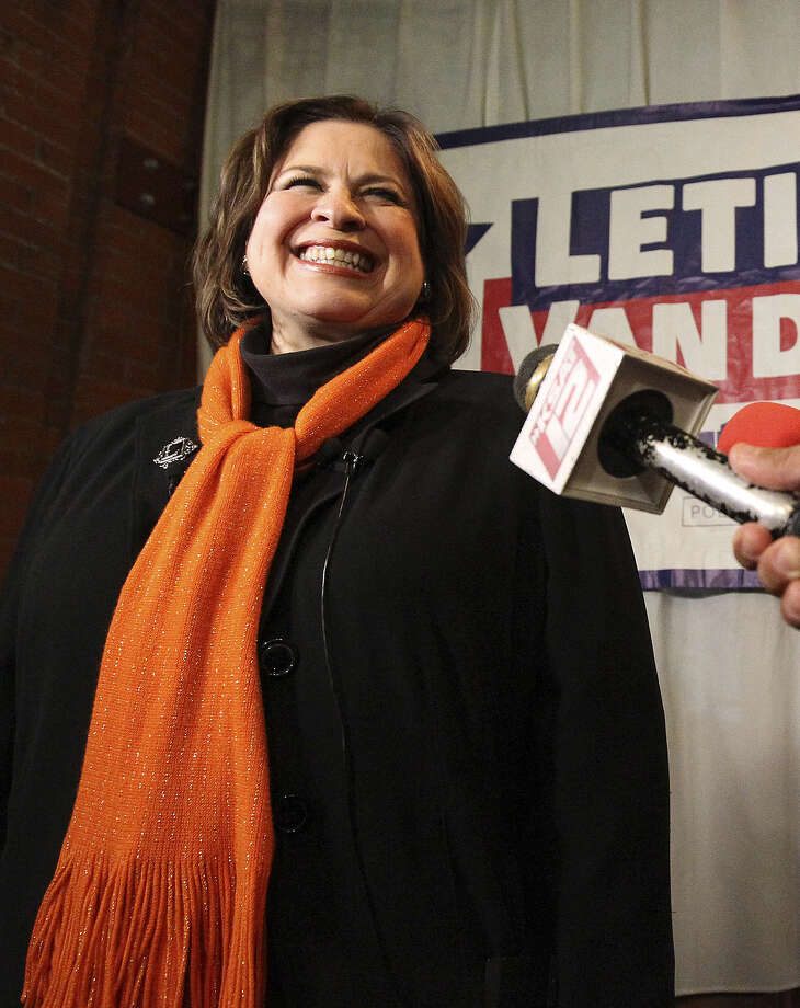 State Sen. Leticia Van de Putte, D-San Antonio, might have the edge in  collegiality as Senate president/lieutenant governor — at least among Senate Republicans. Photo: Kin Man Hui / San Antonio Express-News / ©2013 San Antonio Express-News
