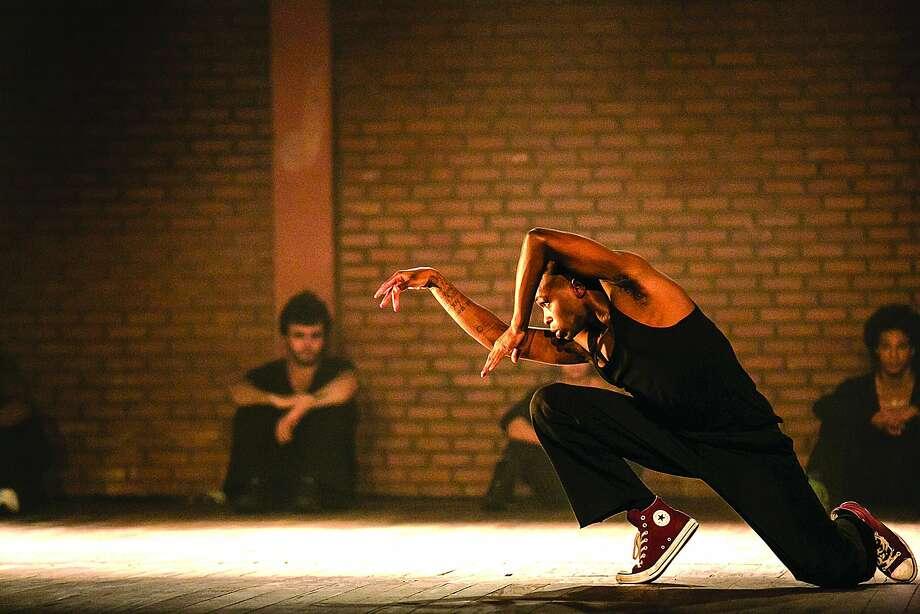 "Above: Felipe de Oliveira performs in Companhia Urbana de Dança's signature work, ""ID: Entidades."" Photo: Renato  Margolin, Companhia  Urbana De Dança"